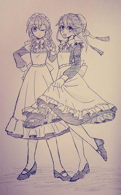 Serena and Yuzu