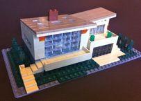MCM Lego houses