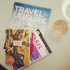Rośe and required reading for #Paris! #travel #wanderlust