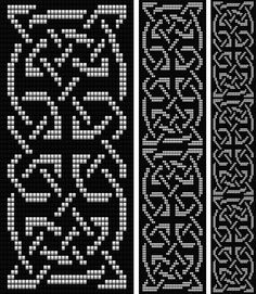 Celtic Knot 2. Loom | Bead-Patterns                                                                                                                                                      More