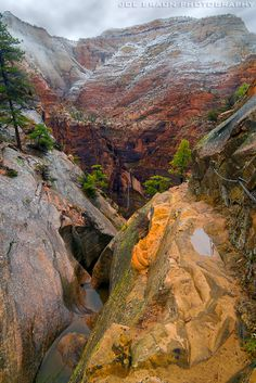 Hidden Canyon (Zion National Park) -- © 2010 Joe Braun Photography