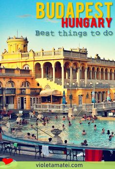 Best things to do in Budapest, with details on how to visit the Buda Castle, Szechenyi Bath, Andrassy Avenue, St. Stephen's Basilica and more. Find tips on choosing your Danube cruise and on picking the best hotel in Budapest. Europe Travel Tips, Travel Guides, Travel Destinations, Budapest Travel Guide, Capital Of Hungary, Budapest Things To Do In, Visit Budapest, Buda Castle, Little Paris