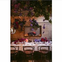 Regram from who took this stunning pic at the fabulous & Tommy's wedding late last Dec. The whole decor was incredible! Table Settings, The Incredibles, Restaurant, Table Decorations, Weddings, Pictures, Furniture, Home Decor, Photos