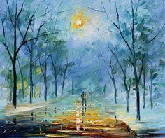 Winter's Fog - http://leonidafremov.deviantart.com/