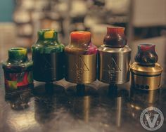 Slam Caps and Drip Tips are still in stock to give your Goon RDA a new look. Don't have a Goon?  We got those available too. Get' em at EVCigarettes while supplies last!  #EVCigarettes #vape #ecig #vapor #vaperazzi #instavaperz #instavape #igvapers #vapor