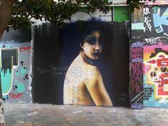 Lîma lîma , Rue Henri-Noguères, Paris, 2015, detail