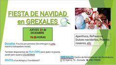 Granada, 21 diciembre, fiesta benéfica de Navidad  Más  https://www.facebook.com/events/2009690715978032/?ti=as **No somos organizadores, solo informamos. Más eventos en https://fb.me/actossolidarios, Mario WhatsApp 616453927