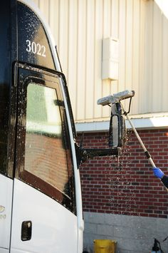 Immaculately cleaned motorcoaches, every day, after every ride.