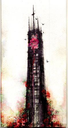 The Dark Tower; Back tat