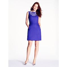 domino dress - Kate Spade