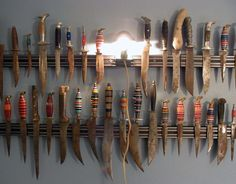 Epic knife collection.