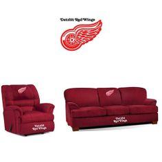 Detroit Red Wings Microfiber Furniture Set