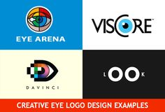 Creative Eye Logo Design Examples for Your Inspiration Best Eye Logo Design, Eye Design, Eye Logo, Eye Logo Design, Eyes, Logo  #EyeLogo #Logo #Design