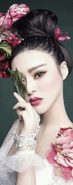 """taramysweetlove: """"""""Just because it's not happening right now, doesn't mean it never will. My Beauty, Asian Beauty, Chinese Makeup, Dress Hairstyles, Japanese Beauty, Beautiful Asian Women, Woman Face, Belle Photo, Portrait Photography"""