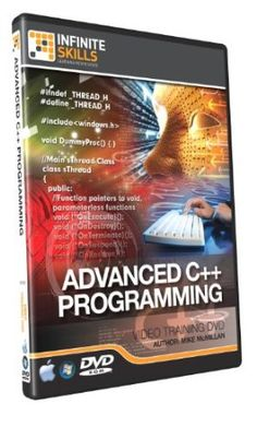 Advanced C++ Programming - Training DVD - Tutorial Videos C Programming, Programming Languages, Mac Software, Training Courses, Web Development, Pointers, Teaching, Videos, Graphics