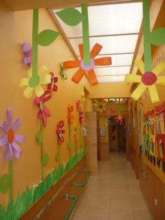 Risultati immagini per capas para portfólios no jardim infantil Decoration Creche, Class Decoration, School Decorations, Spring Art, Spring Crafts, Diy And Crafts, Crafts For Kids, Paper Crafts, Spring Activities
