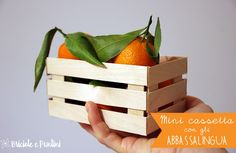 mini cassetta di legno fai da te con gli abbassalingua
