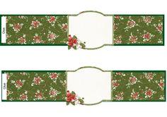 Napkin ring green blank