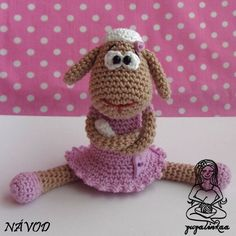 Crochet amigurumi sheep Pattern by Zuzalinkaa Crochet Sheep, Easter Crochet, Crochet Animals, Crochet Crafts, Crochet Toys, Crochet Projects, Knit Crochet, Homemade Crafts, Diy Crafts