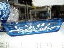 1000 images about hand painted ovenware on pinterest for Baking enamel paint on glass