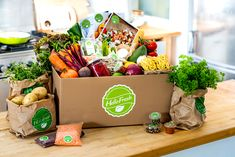 Hello Fresh Meal Delivery Box
