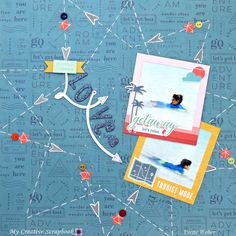 Creative Memories Travel Vacation Studio Stickers You Choose