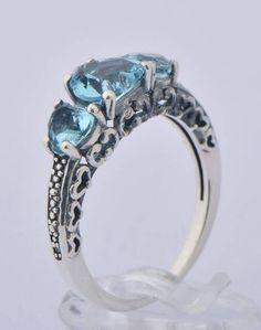 Check out this item in my Etsy shop https://www.etsy.com/ca/listing/493410277/aquamarine-silver-ring