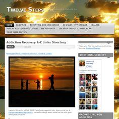 Website http://twelvesteps.wordpress.com/ snapped on Snapito!