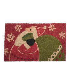 Look at this #zulilyfind! Santa's Sack Doormat #zulilyfinds