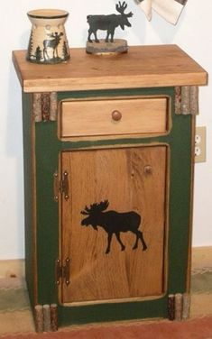 Our customers praise this line of pine furnishings as the most versatile and inexpensive decor with a rustic aged feel. Used in bedrooms as a night stand, bathrooms, living rooms as end tables, kitchens as a pantry, store hats and gloves in mud rooms, sports and trophy rooms and bars. Used in