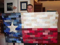 texas quilt by KirstenR, via Flickr