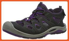 ECCO Women's Biom Delta Offroad Athletic Sandal, Black/Imperial Purple, 38 EU/7-7.5 M US - Sandals for women (*Amazon Partner-Link)