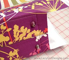 Lazy Girl Designs » Tutorial: Add Purse Feet to Your Next Bag Creation