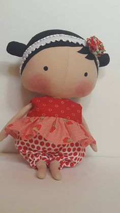Tilda Sweetheart doll clothes doll outfit baby by LaShellesBelles
