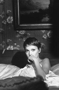 Mia Farrow,1968 #pixie