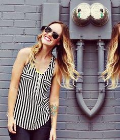 Sensação de 2013 - Listras #moda #fashion #pipocacomsalto www.pipocacomsalto.com.br