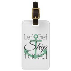 Shop Bachelorette Cruise, Girls Weekend Trip Luggage Tag created by EHPDesigns.