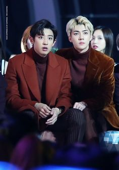From Chanyeol to Sehun, how much do you not understand what's going on LOOOL Chanbaek, Exo Ot12, Park Chanyeol, Baekhyun Chanyeol, Exo Official, Exo Couple, Xiuchen, Kim Minseok, Kpop Exo
