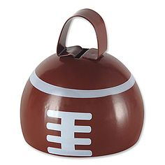 Our Football Sport Cow Bell features a metal rounded cow bell painted brown and white to resemble a football. Each metal cow bell is 3 inches. Football Cowbells, Football Cheer, Football Season, Football Banquet, Football Stuff, Football Favors, Cheer Banquet, Cardinals Football, Football Shirts