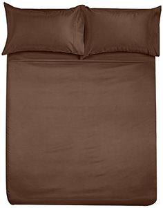 United Linens Solid Microfiber-Sheet Sets(brown,Queen, 4 piece set ) Luxurious-Best Value-Beddings-Sale Ready for bedroom design inspiration? - http://aluxurybed.com/product/united-linens-solid-microfiber-sheet-setsbrownqueen-4-piece-set-luxurious-best-value-beddings-sale/