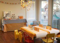 one year old in a flash {party details} » The Macs