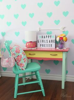 Girls Bedroom Decor-
