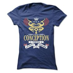 its a CONCEPTION Thing You Wouldnt Understand  - T Shir - #gift basket #gift for him. ACT QUICKLY => https://www.sunfrog.com/Names/its-a-CONCEPTION-Thing-You-Wouldnt-Understand--T-Shirt-Hoodie-Hoodies-YearName-Birthday-43598943-Ladies.html?68278