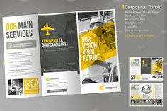 Corporate Tri-fold Vol. 2 by MrTemplater on @creativemarket