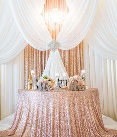 """97 Likes, 7 Comments - Z Create Design (@zcreatedesign) on Instagram: """"Isn't this sweetheart table divine? Thank you to bride Tiffany for sharing this photo with us and…"""""""