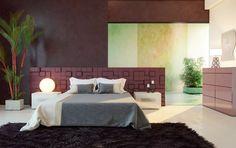 Burgundy Bedroom