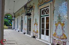 Azulejos do Palácio São Clemente - Rio de Janeiro - RJ - Brasil