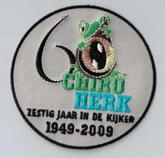 You see the frog in this badge? Every youth movement should have this! It's a nice memory for the kids! You can upload your very own design. Super cool! ***ibadge.com***