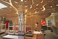 Image result for unique bar restaurant ceilings 3d design s