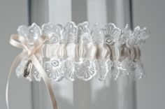 "Wedding Garter ""Janice"" by La Gartier Wedding Garters"